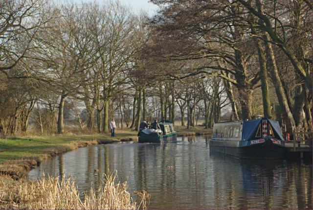 Coventry Canal near Fradley village