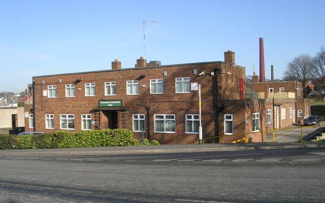 Greenacre Community Hall - New Road Side