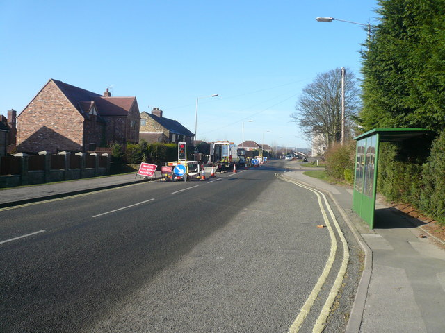 Newbold Road - Junction with Keswick Drive
