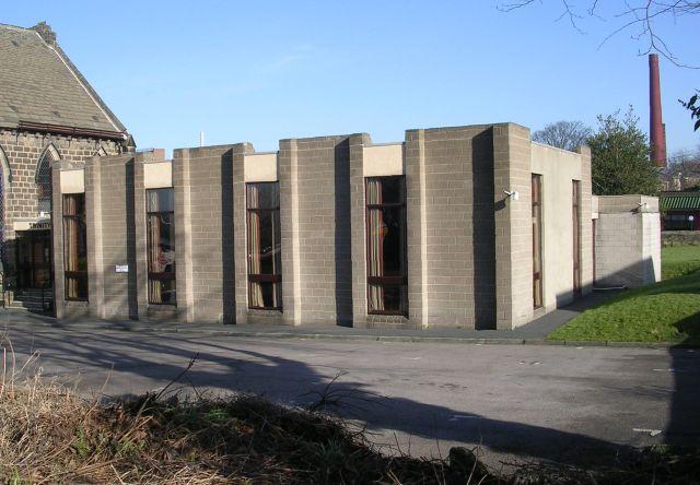 Trinity Church Hall - New Road Side
