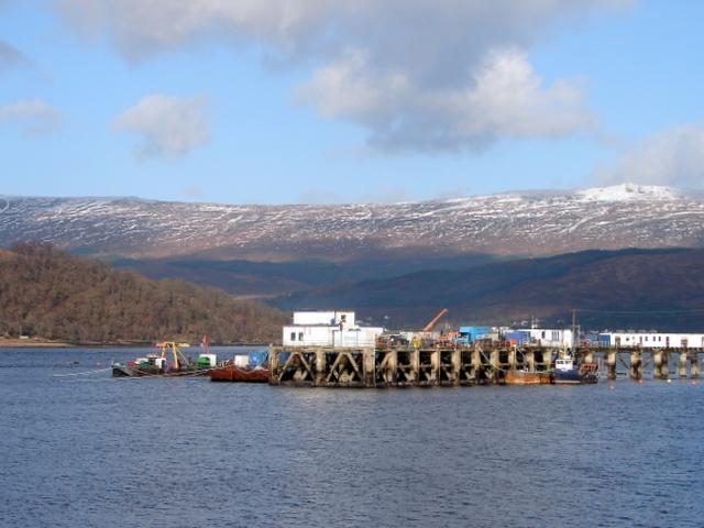 Pier at Fort William