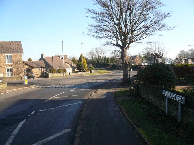 Upper Newbold - Four Lane Ends