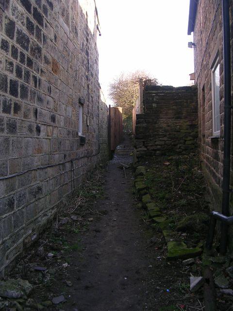 Footpath off Apperley Lane