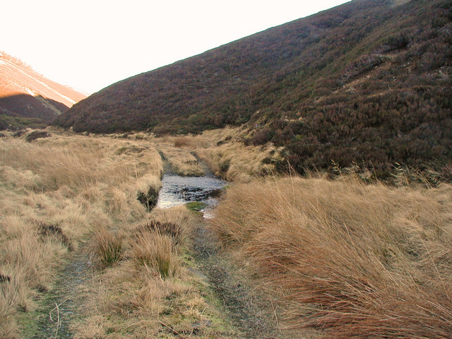 Ford over the Quillichan Burn