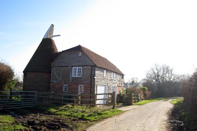 The Oast House, Mount Le Hoe, Benenden, Kent
