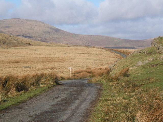 Fell lane reaches open ground