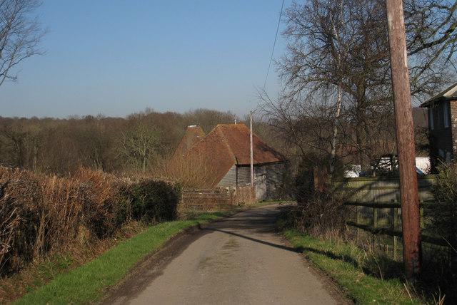 Oast House at Mount Hall Farm, Stepneyford Lane, Benenden, Kent