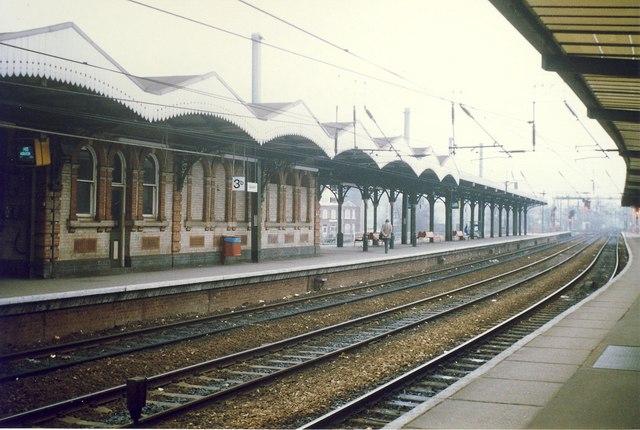 Ipswich Station Platform 3b.