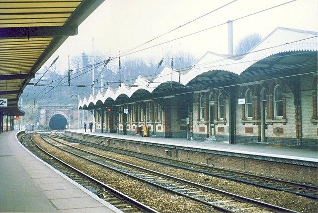 Ipswich Station Platform 3a.