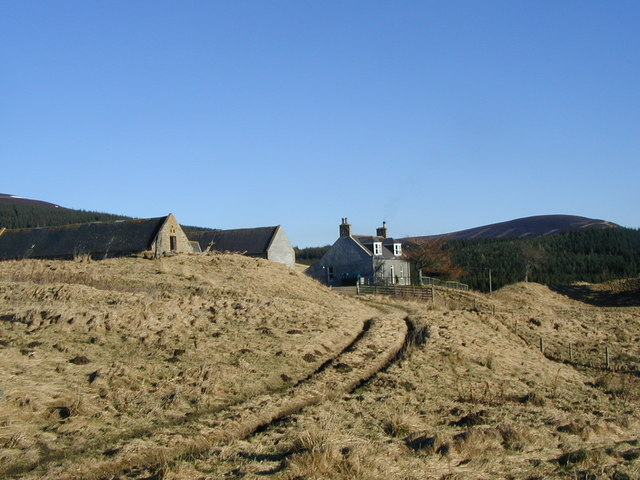 Tolduquhill house and steading
