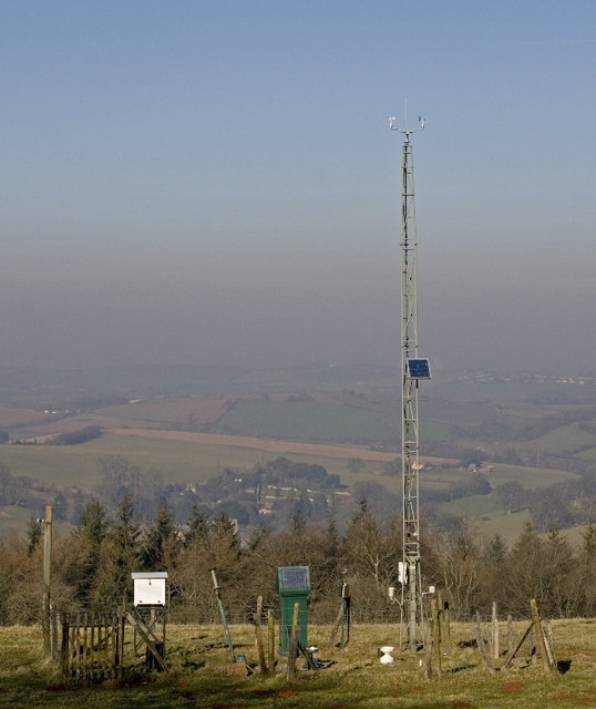 Bird's Hill Climate Station, Colton Cross