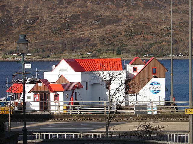 Restaurant beside Loch Linnhe