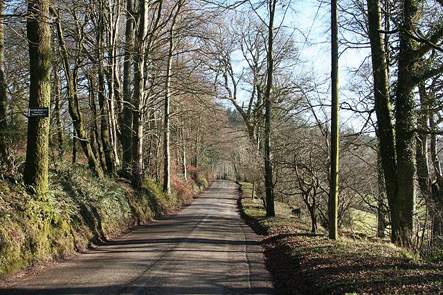 Dunchideock: near Lawrence Castle