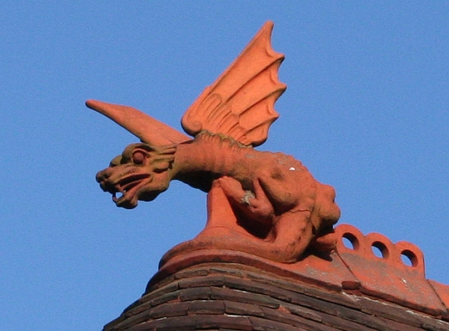 Dragon Finial, The Gatehouse, Davenham
