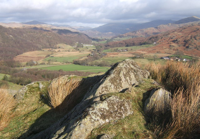 Castle How summit (144m) and Duddon view