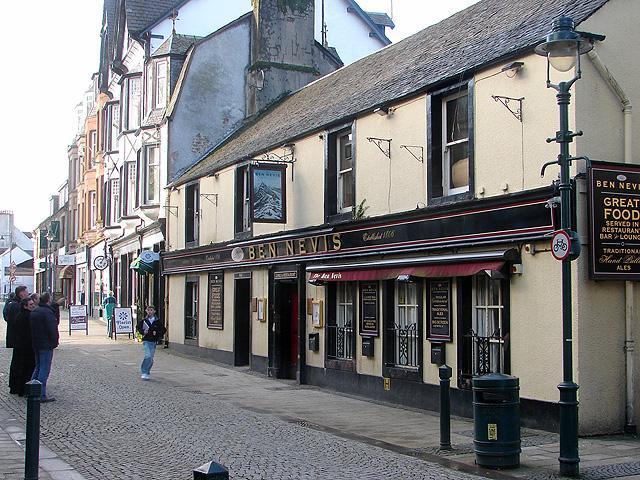 The Ben Nevis pub