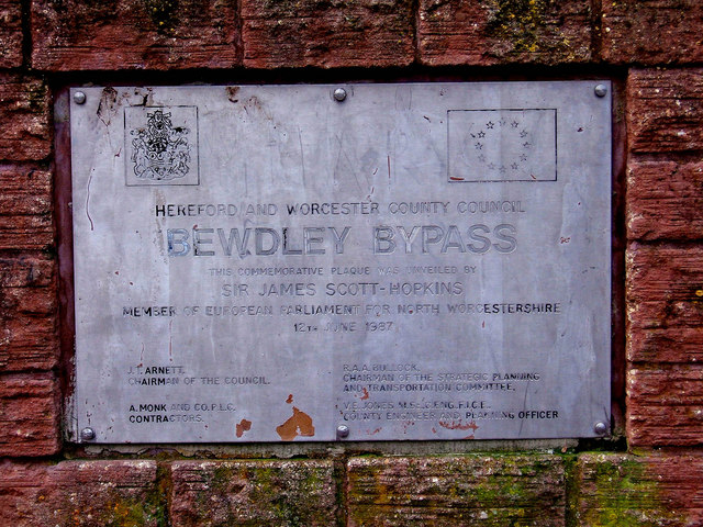 Fading Away - Bewdley Bypass Plaque