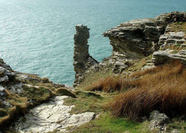 Sea Stack Tintagel