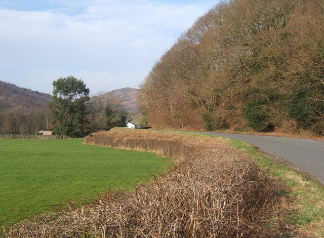 Duddon valley lane towards Bank End