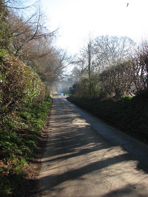 View southeast along Heydon Road