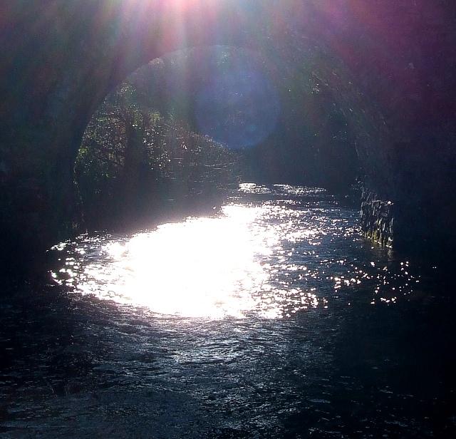 Badgworthy Water through Malmsmead Bridge
