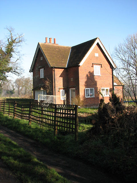 Red brick cottage