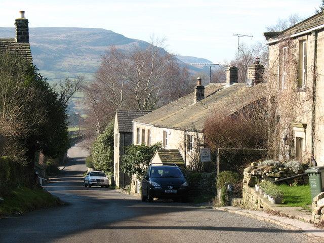 Village street, Appletreewick
