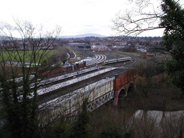 Shrewsbury south junction