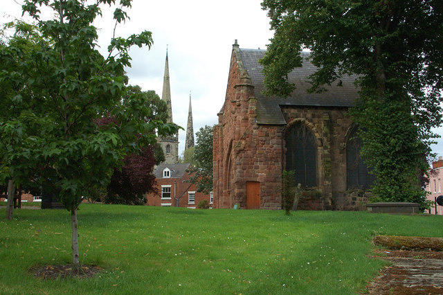 The old St Chad's