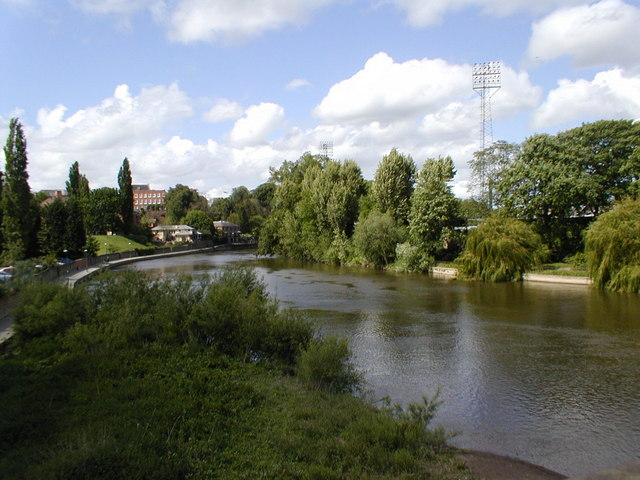 River Severn from English Bridge