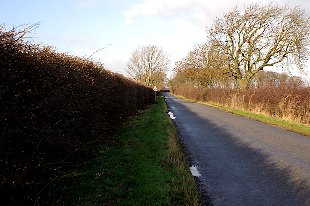 The road from Thorseway to Rothwell