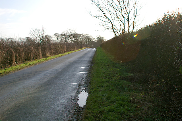The road from Rothwell to Thoresway