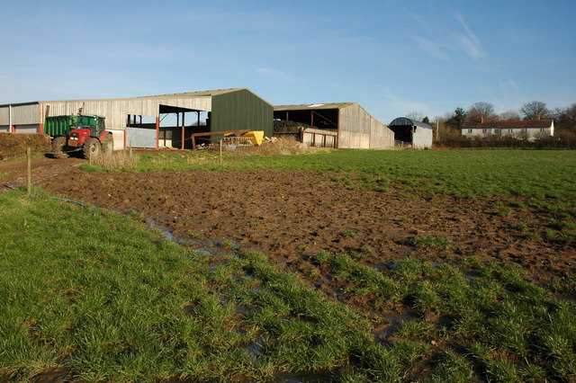 Farm buildings at Overton