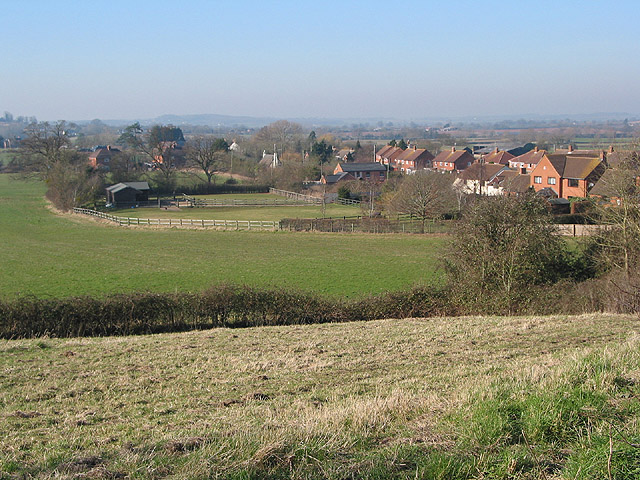View over the western edge of Hartpury