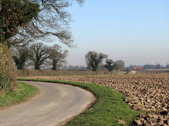 View east along Heydon Road