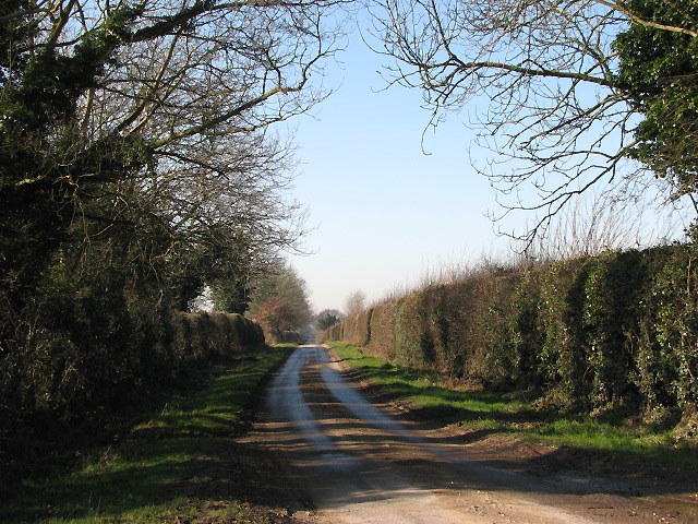 Looking west on Heydon Road