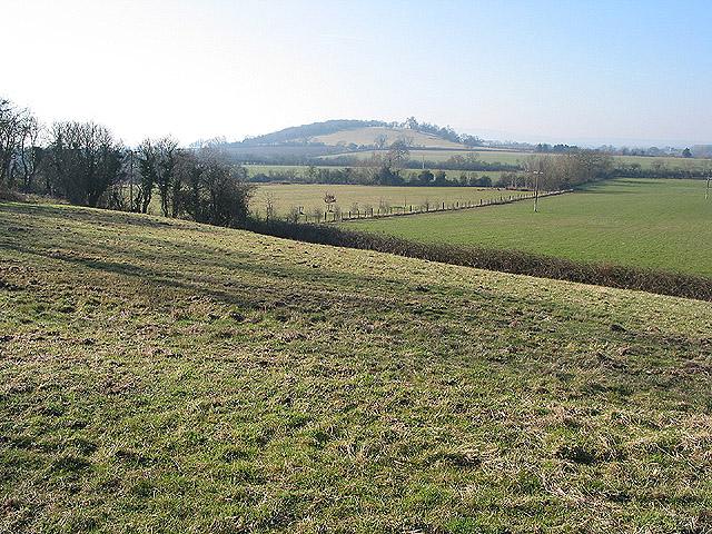 Catsbury Hill near Hartpury