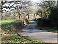SW9061 : Lane to Nankelly Farm by Fred James