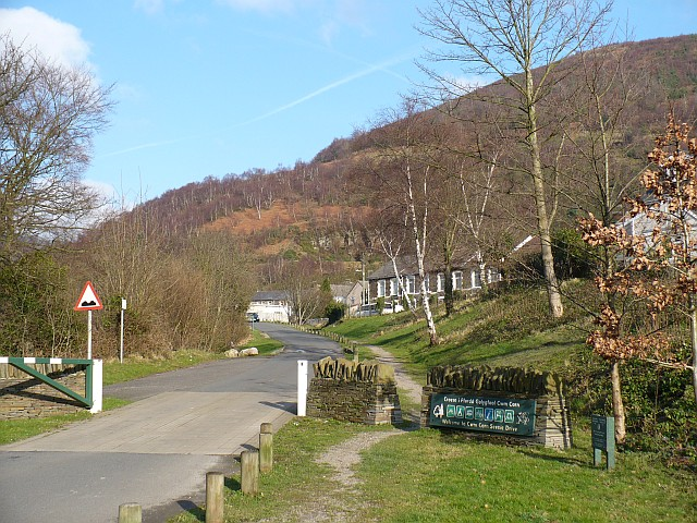 Entrance to Cwm Carn Scenic Drive