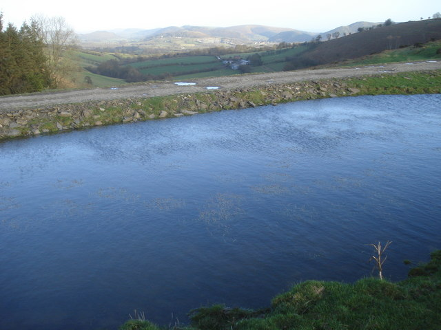 Pond at Cwm Gwalley