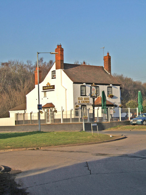 Old Rose & Crown, public house, Worcester Road
