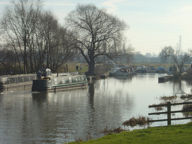 Moorings on the Soar