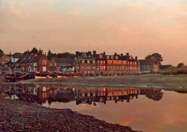 Blakeney, Norfolk, at sunset