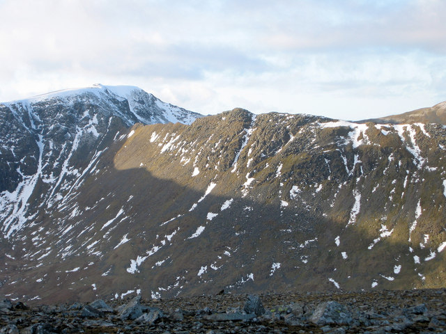 Striding Edge from near St Sunday Crag