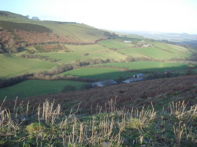 Cwm Gwalley Farm