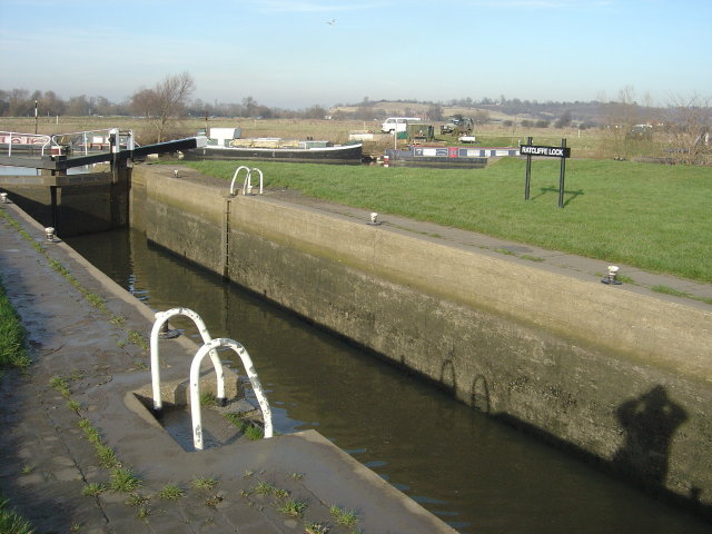 Ratcliffe Lock - the modern chamber