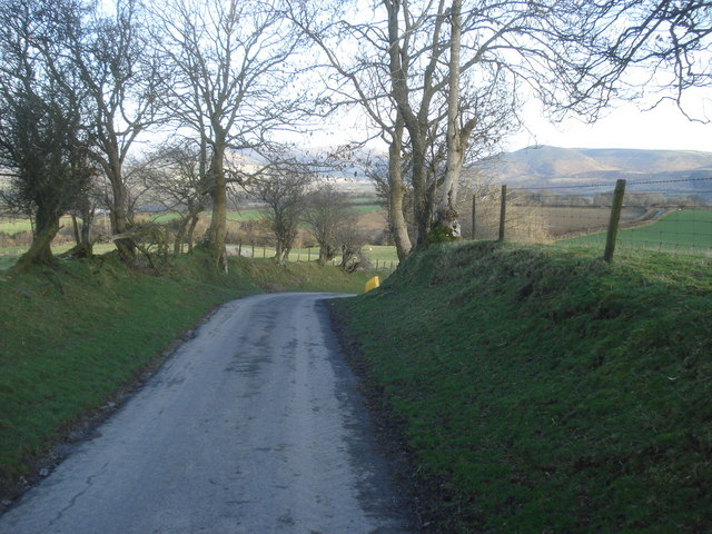 Lane off Burl Hill