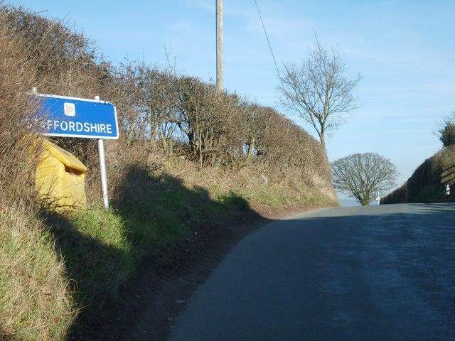 Staffordshire Border