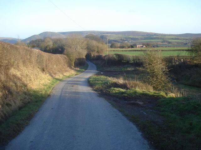 Lane to The Rhos