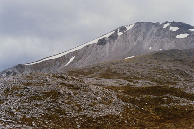 The Leathad Buidhe northeast of Creag Dhubh